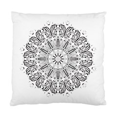 Art Coloring Flower Page Book Standard Cushion Case (one Side)