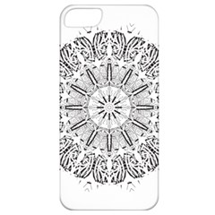Art Coloring Flower Page Book Apple Iphone 5 Classic Hardshell Case