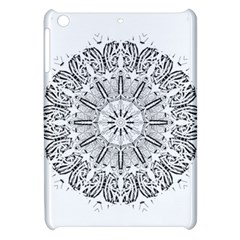 Art Coloring Flower Page Book Apple Ipad Mini Hardshell Case by Nexatart