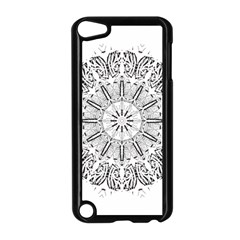 Art Coloring Flower Page Book Apple Ipod Touch 5 Case (black) by Nexatart