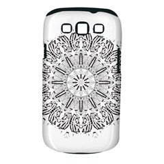 Art Coloring Flower Page Book Samsung Galaxy S Iii Classic Hardshell Case (pc+silicone) by Nexatart