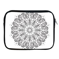 Art Coloring Flower Page Book Apple Ipad 2/3/4 Zipper Cases