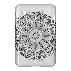 Art Coloring Flower Page Book Samsung Galaxy Tab 2 (7 ) P3100 Hardshell Case  by Nexatart