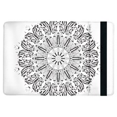 Art Coloring Flower Page Book Ipad Air Flip