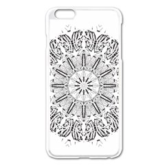 Art Coloring Flower Page Book Apple Iphone 6 Plus/6s Plus Enamel White Case by Nexatart