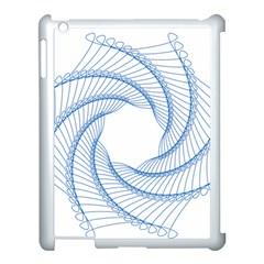 Spirograph Spiral Pattern Geometric Apple Ipad 3/4 Case (white) by Nexatart