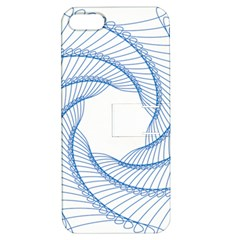 Spirograph Spiral Pattern Geometric Apple Iphone 5 Hardshell Case With Stand by Nexatart