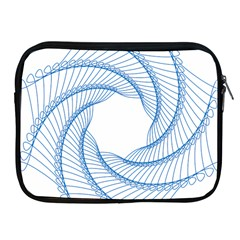Spirograph Spiral Pattern Geometric Apple Ipad 2/3/4 Zipper Cases