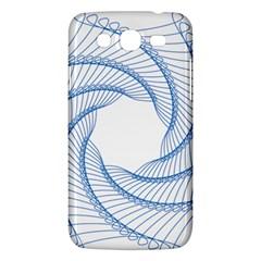 Spirograph Spiral Pattern Geometric Samsung Galaxy Mega 5 8 I9152 Hardshell Case  by Nexatart