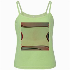 Background Image Greeting Card Heart Green Spaghetti Tank