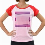 Background Image Greeting Card Heart Women s Cap Sleeve T-Shirt