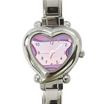 Background Image Greeting Card Heart Heart Italian Charm Watch