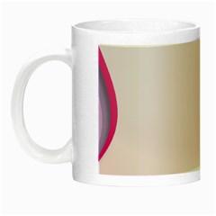 Background Image Greeting Card Heart Night Luminous Mugs