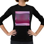 Background Image Greeting Card Heart Women s Long Sleeve Dark T-Shirts