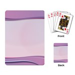 Background Image Greeting Card Heart Playing Card