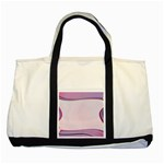 Background Image Greeting Card Heart Two Tone Tote Bag