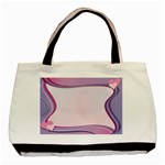 Background Image Greeting Card Heart Basic Tote Bag (Two Sides)