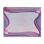 Background Image Greeting Card Heart Cosmetic Bag (XL)