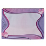Background Image Greeting Card Heart Cosmetic Bag (XXL)