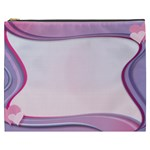 Background Image Greeting Card Heart Cosmetic Bag (XXXL)