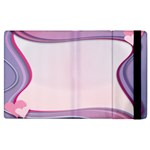 Background Image Greeting Card Heart Apple iPad 3/4 Flip Case