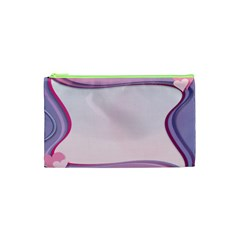 Background Image Greeting Card Heart Cosmetic Bag (xs) by Nexatart