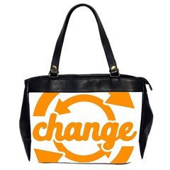 Think Switch Arrows Rethinking Office Handbags (2 Sides)  by Nexatart