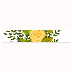 Roses Flowers Floral Flowery Small Bar Mats