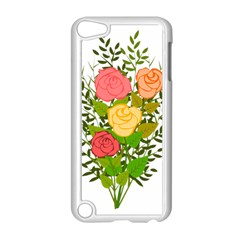 Roses Flowers Floral Flowery Apple Ipod Touch 5 Case (white) by Nexatart