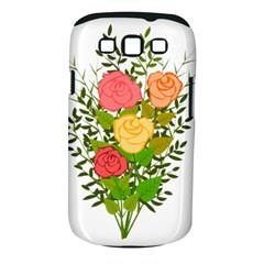 Roses Flowers Floral Flowery Samsung Galaxy S Iii Classic Hardshell Case (pc+silicone)