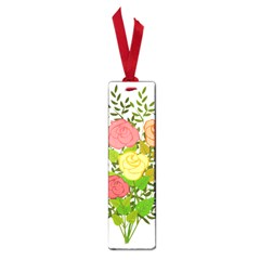 Roses Flowers Floral Flowery Small Book Marks by Nexatart
