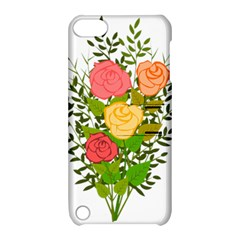 Roses Flowers Floral Flowery Apple Ipod Touch 5 Hardshell Case With Stand by Nexatart