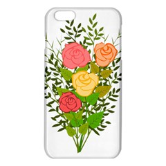 Roses Flowers Floral Flowery Iphone 6 Plus/6s Plus Tpu Case