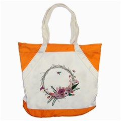 Flowers Twig Corolla Wreath Lease Accent Tote Bag by Nexatart