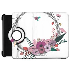 Flowers Twig Corolla Wreath Lease Kindle Fire Hd 7