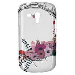 Flowers Twig Corolla Wreath Lease Galaxy S3 Mini