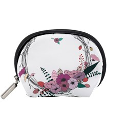 Flowers Twig Corolla Wreath Lease Accessory Pouches (small)