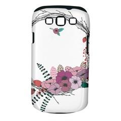 Flowers Twig Corolla Wreath Lease Samsung Galaxy S Iii Classic Hardshell Case (pc+silicone)