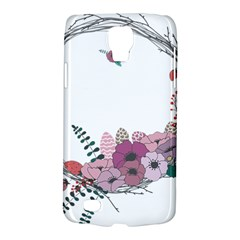 Flowers Twig Corolla Wreath Lease Galaxy S4 Active by Nexatart