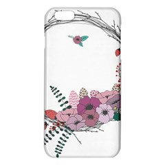 Flowers Twig Corolla Wreath Lease Iphone 6 Plus/6s Plus Tpu Case
