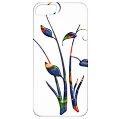 Flora Abstract Scrolls Batik Design Apple Iphone 5 Classic Hardshell Case