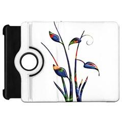 Flora Abstract Scrolls Batik Design Kindle Fire Hd 7