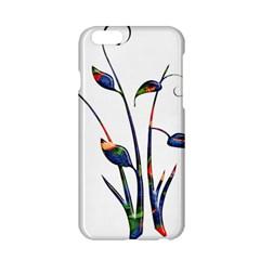 Flora Abstract Scrolls Batik Design Apple Iphone 6/6s Hardshell Case by Nexatart