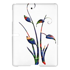 Flora Abstract Scrolls Batik Design Samsung Galaxy Tab S (10 5 ) Hardshell Case  by Nexatart