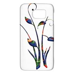 Flora Abstract Scrolls Batik Design Galaxy S6