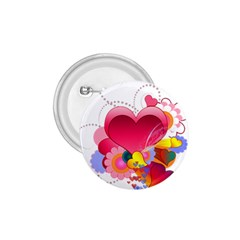 Heart Red Love Valentine S Day 1 75  Buttons by Nexatart