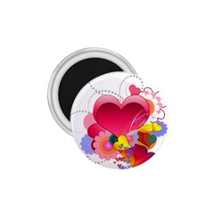 Heart Red Love Valentine S Day 1 75  Magnets