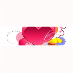 Heart Red Love Valentine S Day Large Bar Mats