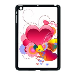 Heart Red Love Valentine S Day Apple Ipad Mini Case (black)