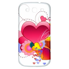 Heart Red Love Valentine S Day Samsung Galaxy S3 S Iii Classic Hardshell Back Case by Nexatart